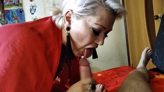 This Granny Knows How to Suck Cock