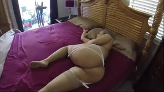 Morning sex with blonde hot mom